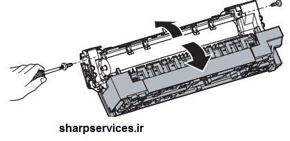 قسمتهایی که در تعمیر و سرویس قطعات دستگاه فتوکپی شارپ از طرف خدمات نمایندگی شارپ ارائه خدمات می شوند به شرح زیر می باشد: