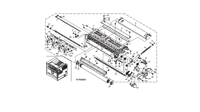 تشریح یونیت پردازش دستگاه کپی شارپ توسط توسط نمایندگی رسمی فتوکپی شارپ
