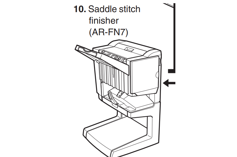 AR-F N 7: Saddle stitch finisher