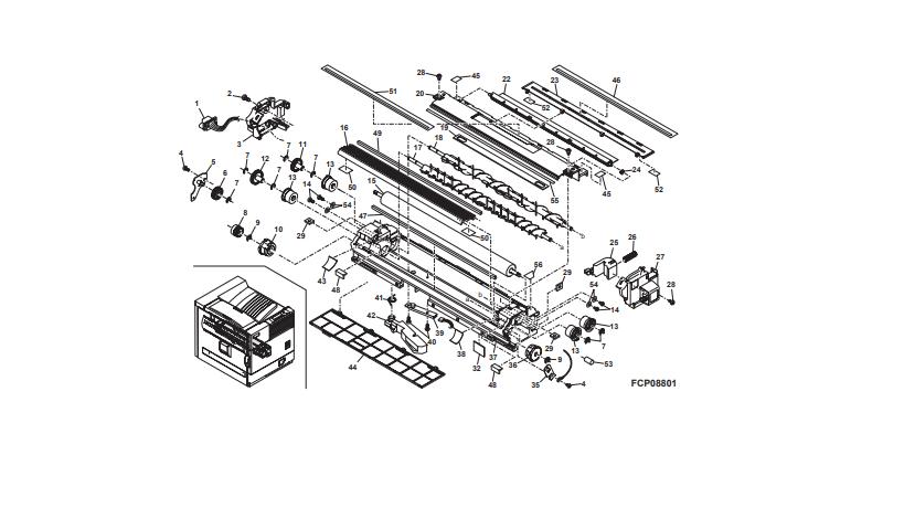 تشریح یونیت تانک دولوپر دستگاه کپی شارپ توسط نمایندگی رسمی فتوکپی شارپ:(unit developer)