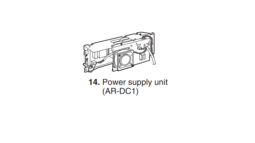 AR-DC 1: Power supply unit