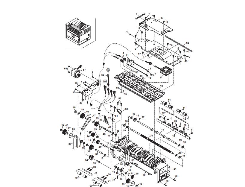 تشریح یونیت خروجی دستگاه کپی شارپ توسط نمایندگی رسمی فتوکپی شارپ