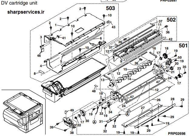 نمایندگی تعمیرات دستگاه کپی شارپ در محل
