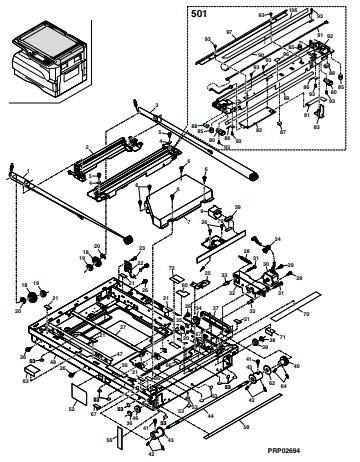 آموزش سفارش کدهای قطعه از نمایندگی تعمیرات شارپ