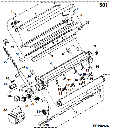 قطعات، تعمیر، یونیت درام کپی شارپ AR-1 1 1 8 j