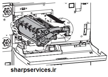 آموزش سرویس و تعمیر یونیت درام دستگاه فتوکپی شارپ