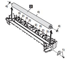 آموزش باز کردن یونیت تیغه کلینر و تشریح شارپ مدل AR-M 620 uتوسط نمایندگی شارپ